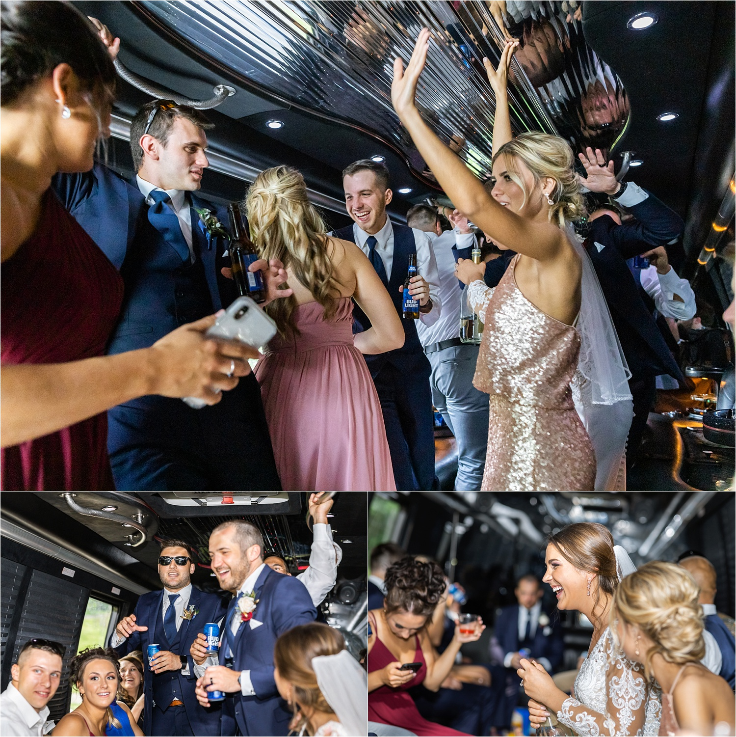 They put the PARTY in party bus!