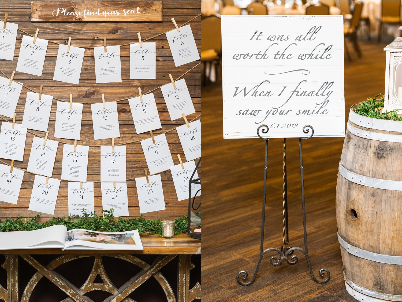 summer 2019 wedding at the vineyards at pine lake
