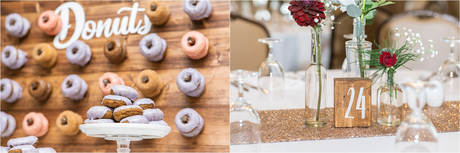 You really can't ever go wrong with a donut wall from White House Fruit Farm…