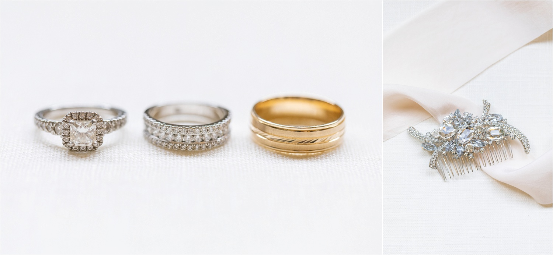 wedding ring photography at summer wedding at signature of solon