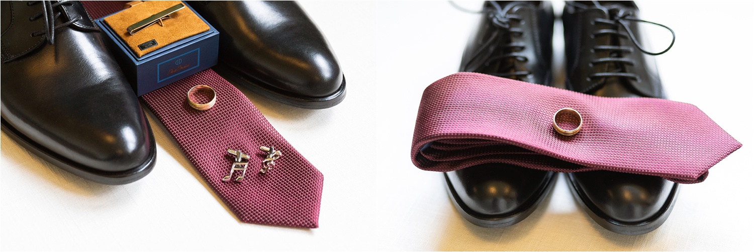 mens wedding details for summer wedding at signature of solon