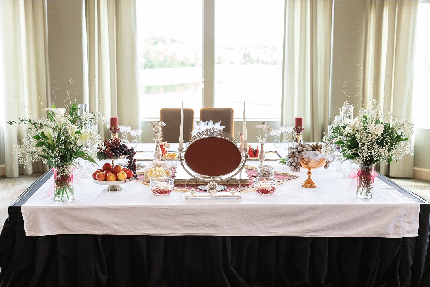 persian delight details for persian american wedding at signature of solon