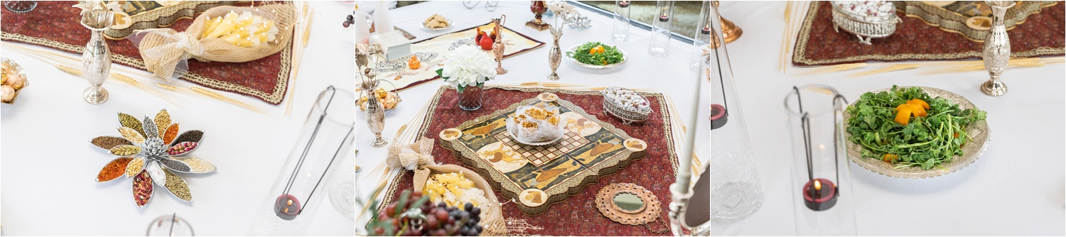 How beautiful is this Sofreh Aghd, traditional Persian spread?!