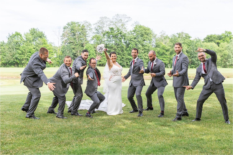 persian american bridal party photo at signature of solon
