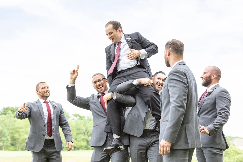 funny persian american groomsmen photo at signature of solon
