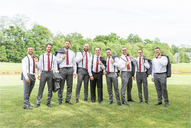 persian american groomsmen photo at signature of solon