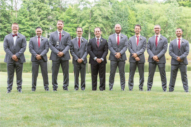 groomsmen photos for persian american wedding at signature of solon