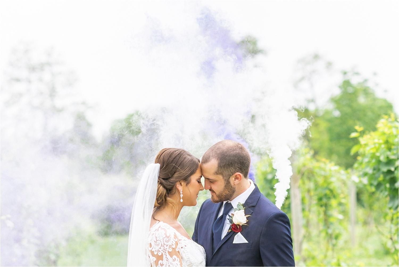 smoke bomb some grenade wedding photos in youngstown ohio