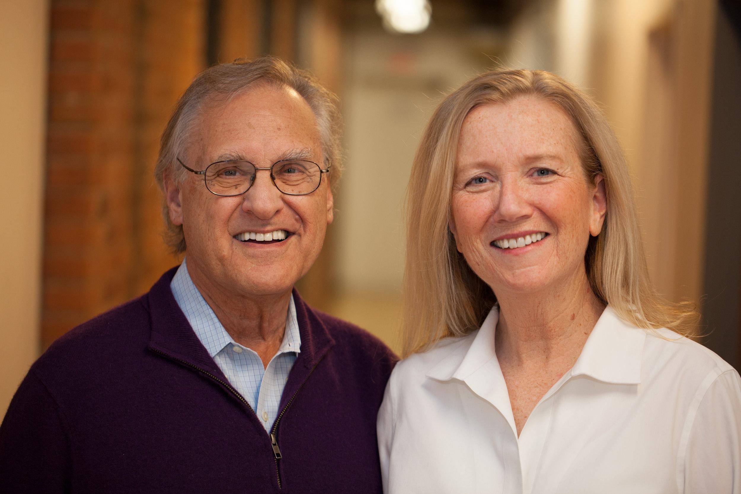 Stephen Lewis and Paula Donovan. Photo by Alexis MacDonald.