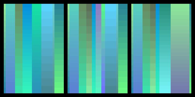stills from colorways