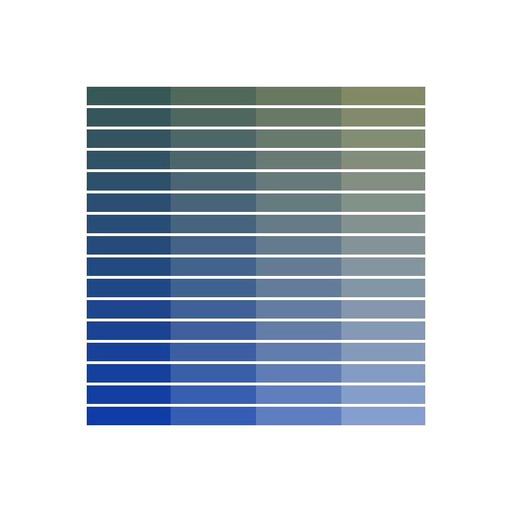 color palette 20