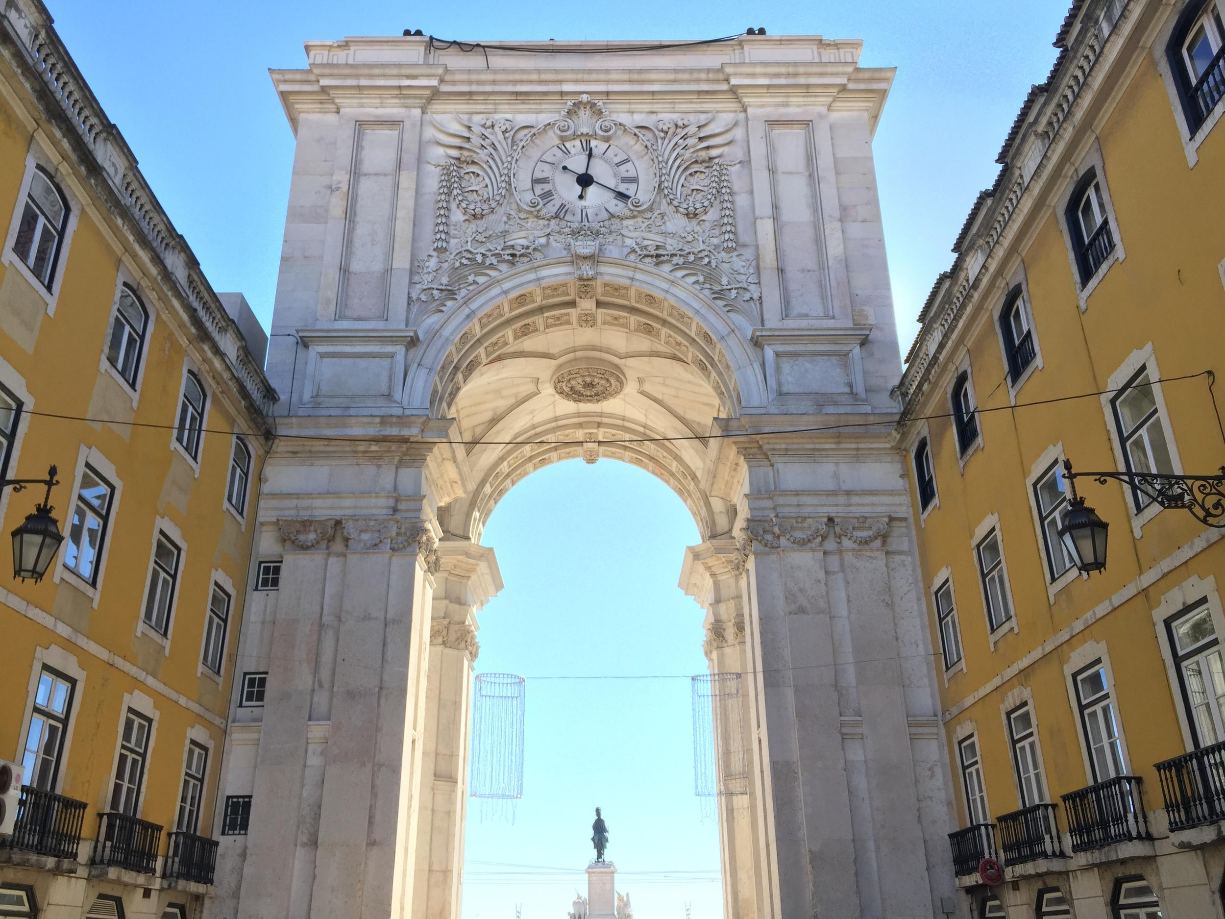 Gate to Praça do Comércio