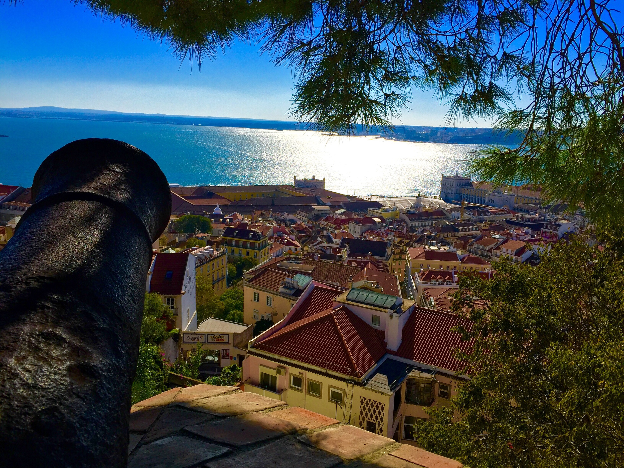 View from Castelo de S. Jorge