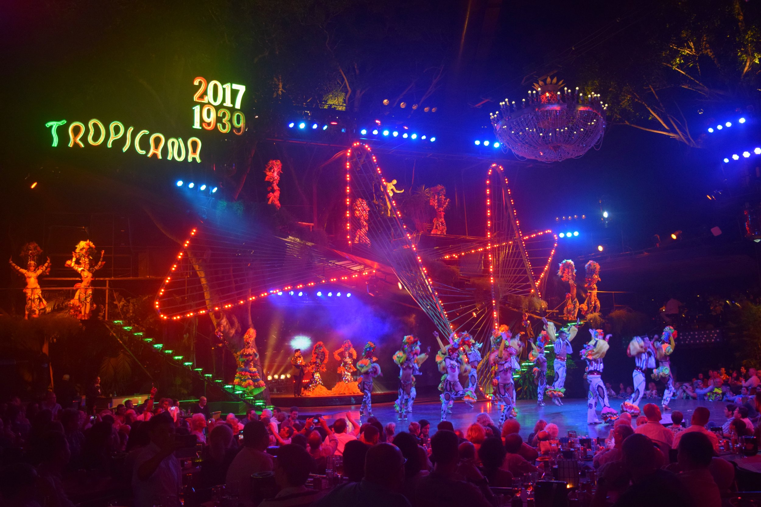 The tropicana is one of the best shows to see while in Havana Cuba - Tessa Juliette | http://travelwheretonext.com