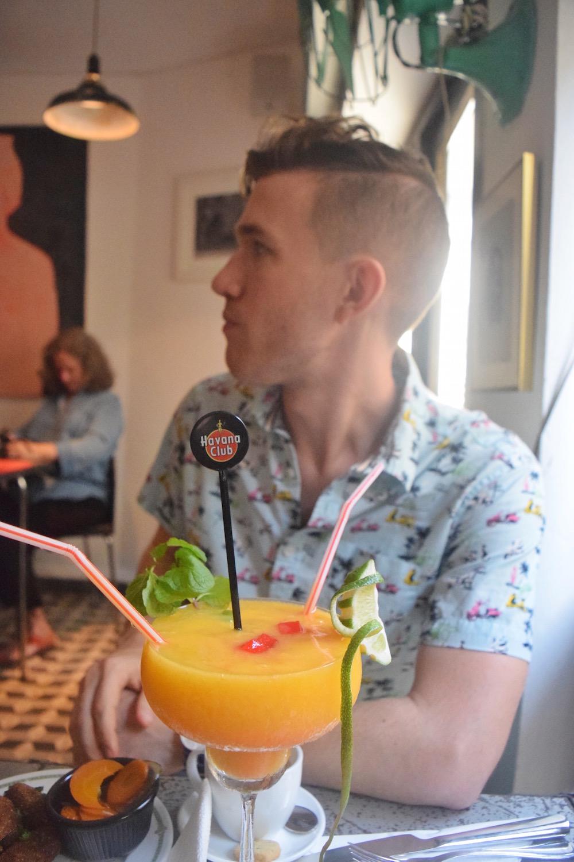 Eating and drinking havana cuba