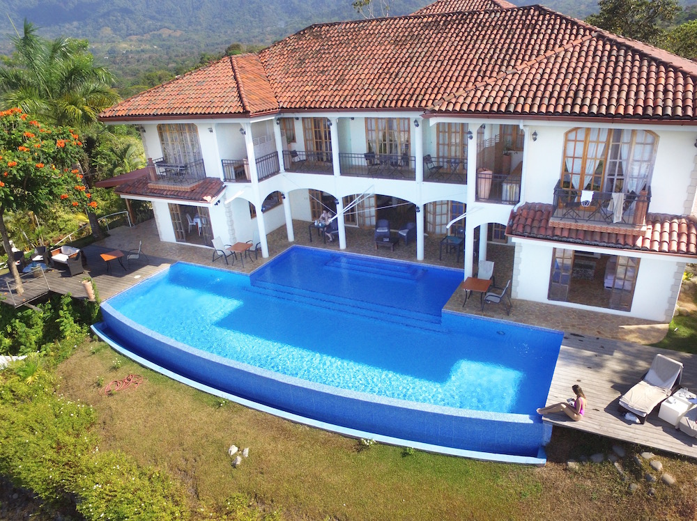 Beautiful hotel El Castillo Costa Rica
