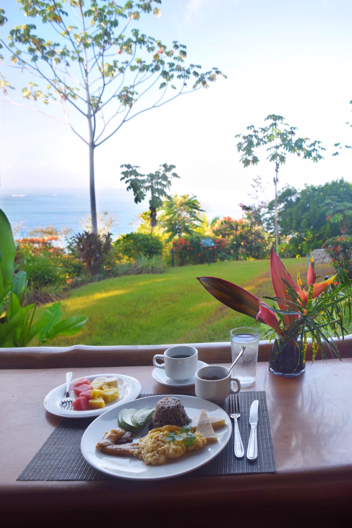 Breakfast at La Cusinga Restaurant Aracari