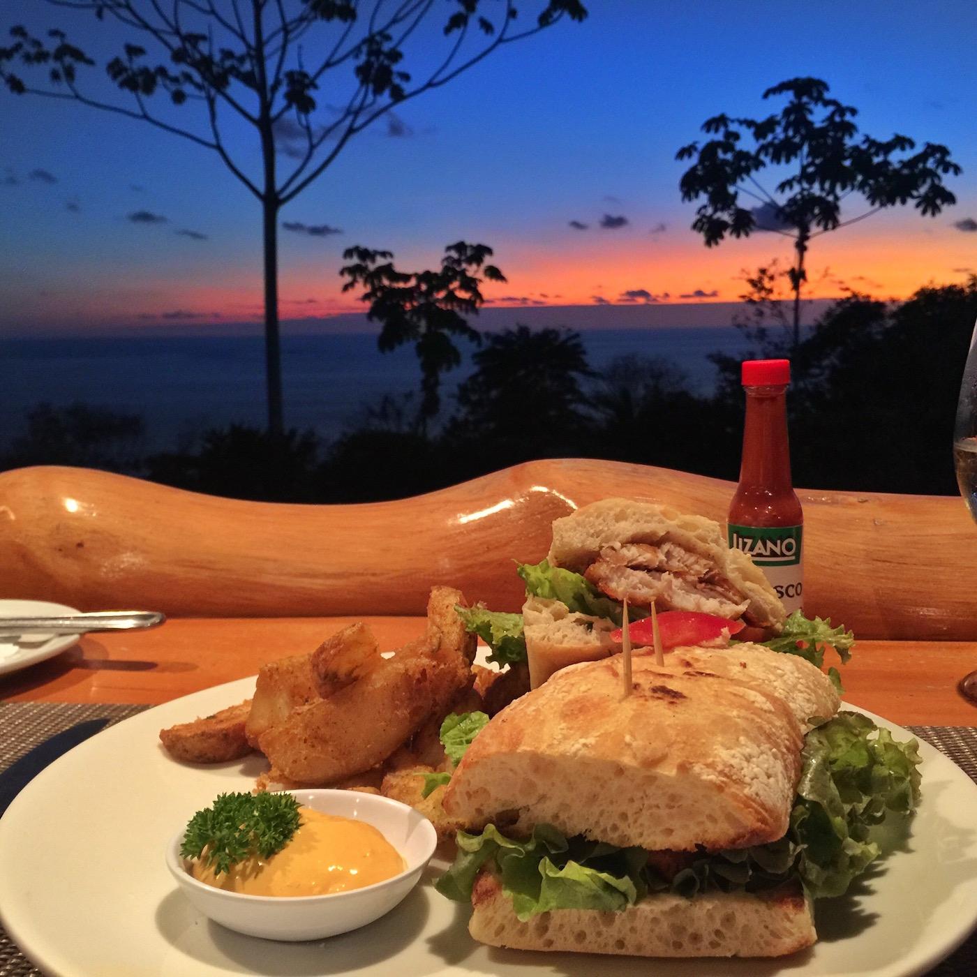 Dinner at La Cusinga Restaurant Aracari