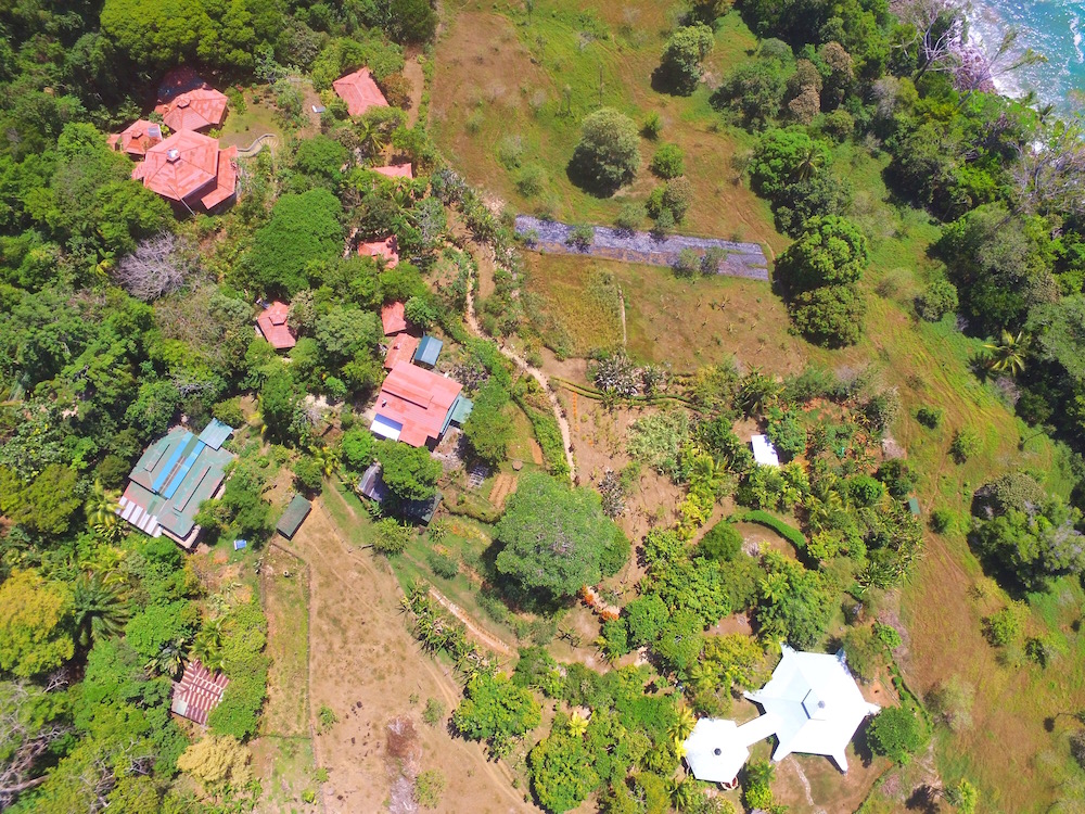 La Cusinga Property from above. One of the best nature hotels in Costa Rica. One of the best bird watching hotels in Costa Rica. This is a top hotel in Costa Rica for good reason.  Tessa Juliette - Travel Where to Next http://travelwheretonext.com