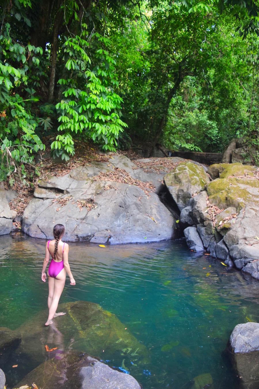 Natural Swimming Hole on La Cusinga Eco Lodge Property