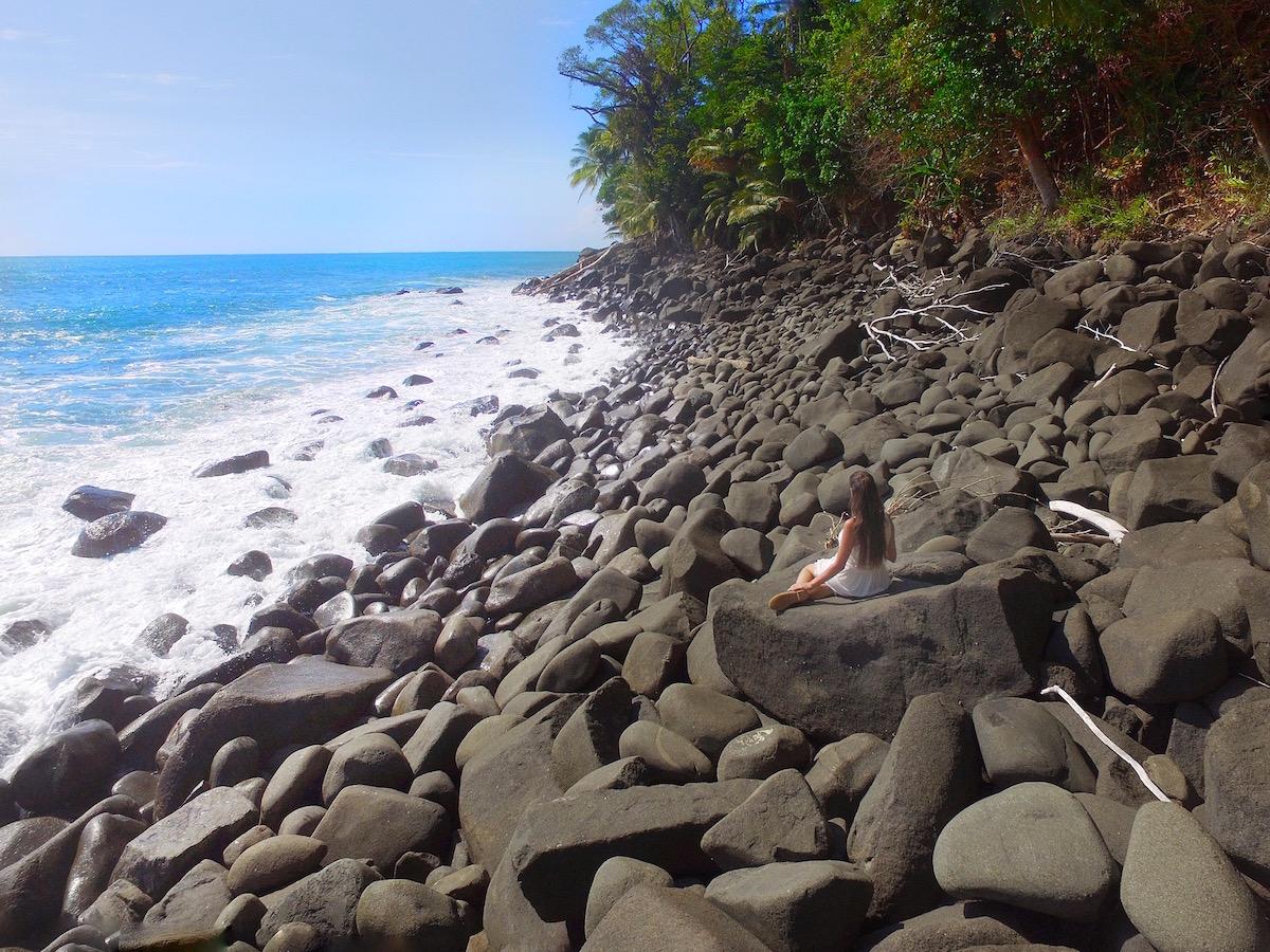 beach on La Cusinga property Costa Rica