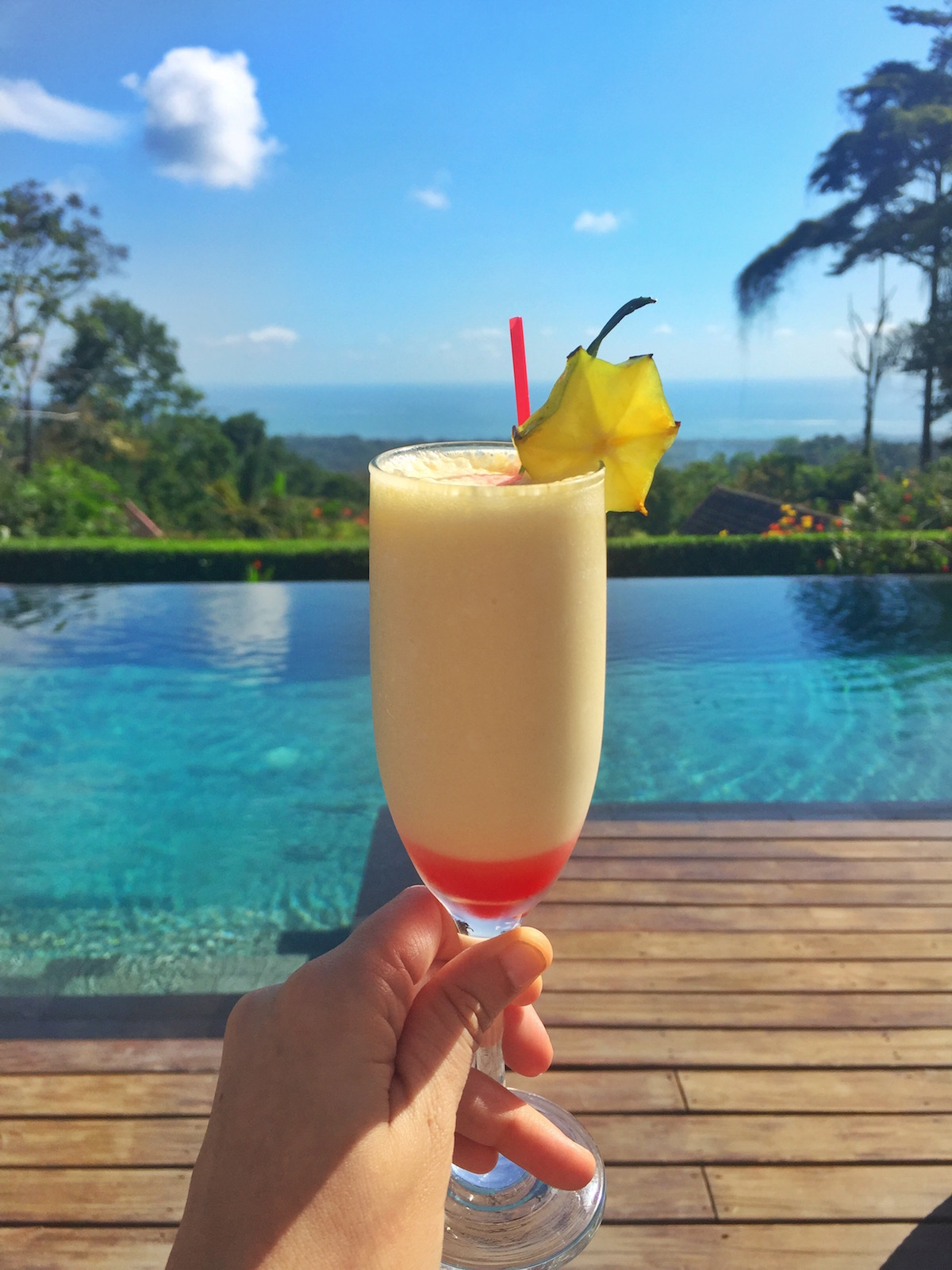 Welcome Drink at Oxygen Jungle Villas
