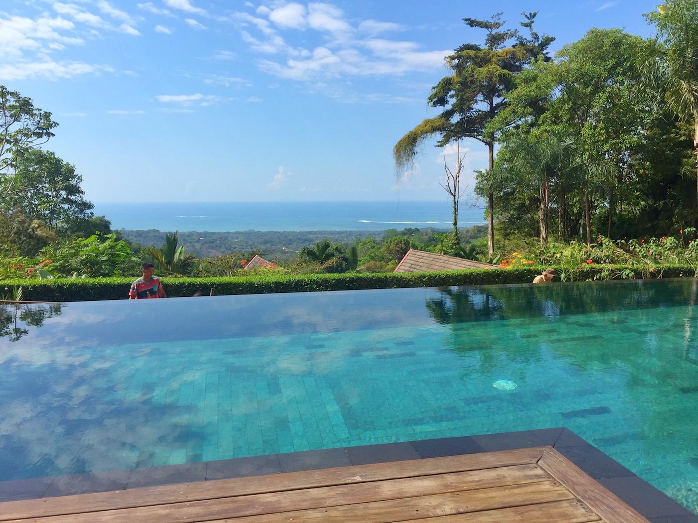 Infinity Pool Oxygen Jungle Villas