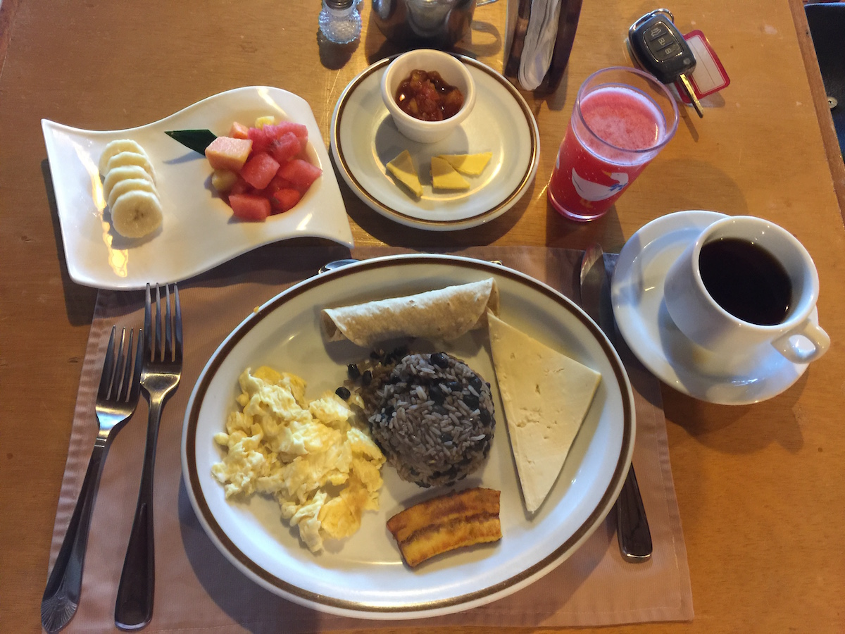 Breakfast is included at Swiss Hotel Miramontes Monteverde