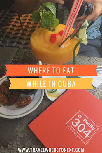 The best places to eat and drink in Cuba - including Havana and Varadero -  Tessa Juliette | http://travelwheretonext.com
