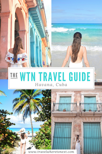 The BEST travel guide for going to Havana Cuba. Day trips! Things to do in Havana! Where to stay in HAvana! What to eat in Havana! You must read this before going to Cuba. - Tessa Juliette | http://travelwheretonext.com/cuba