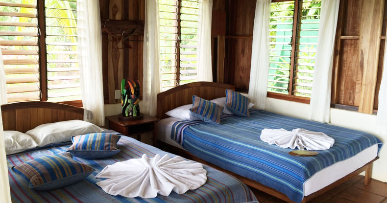 What the cabin rooms look like at La Cusinga Eco Lodge Property.  Best nature hotel in Costa Rica. Best bird watching hotel in Costa Rica. Top hotel in Costa Rica.  Tessa Juliette - Travel Where to Next http://travelwheretonext.com