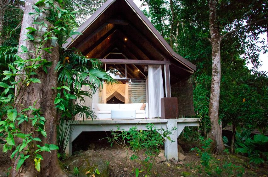 A Jungle View room at Oxygen Jungle Villas