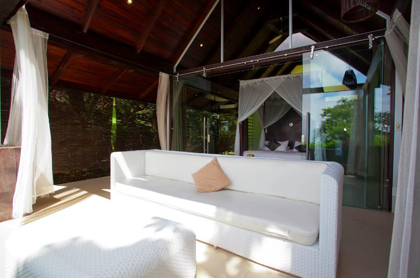 Your Porch at Oxygen Jungle Villas