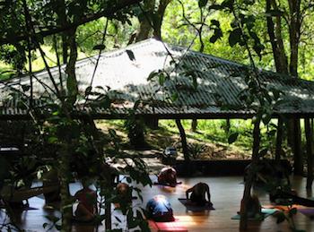 yoga center at Hotel Mystica Costa Rica