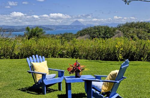 lounging at at Hotel Mystica Costa Rica