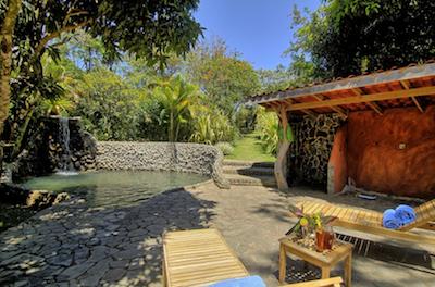 Natural Pool at Hotel Mystica