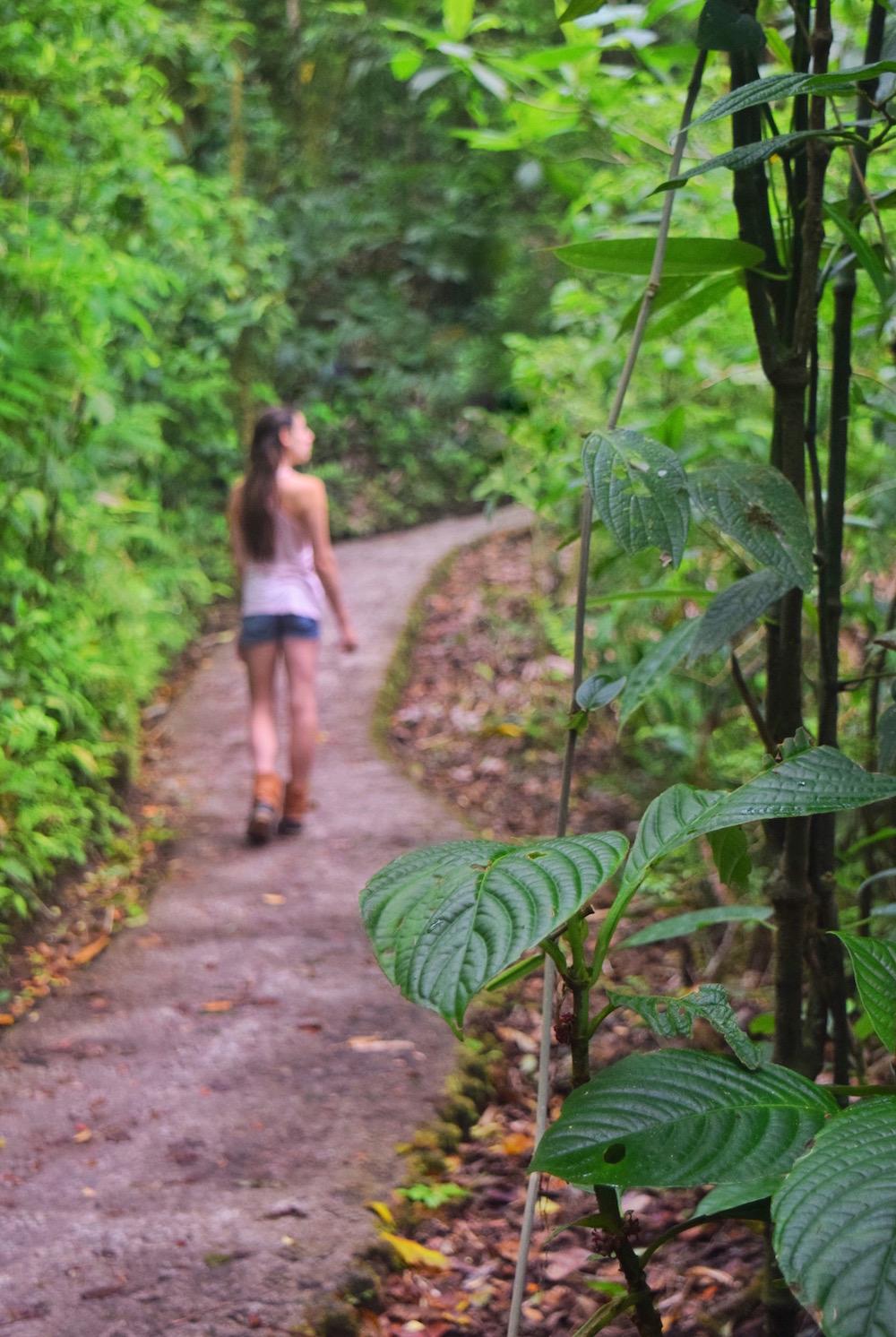 best walking trails in Costa Rica