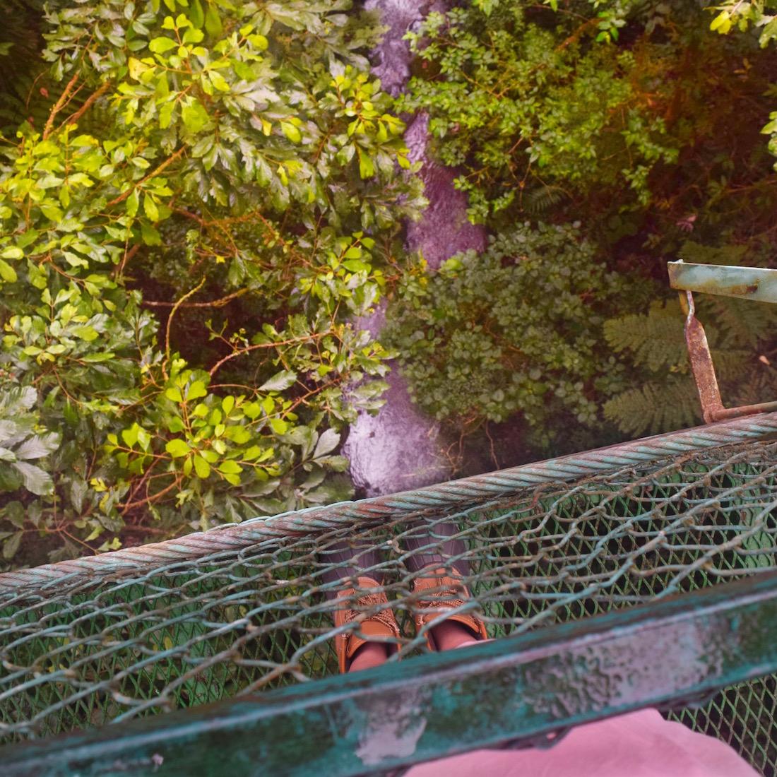 best hanging bridges in Monteverde