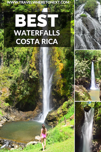 Viento Fresco Waterfalls are hands down the best waterfalls to visit while in Costa Rica. Also, Viento Fresco Waterfalls are some of the most beautiful waterfalls in costa rica and a great stop on the way from La fortuna or Arenal to Monteverde.   Tessa Juliette | Travel Where to Next http://travelwheretonext.com/costa-rica