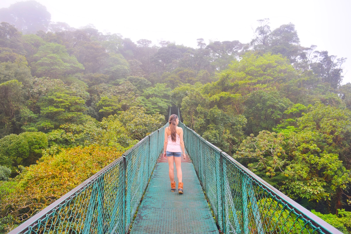 Sky Bridges in Lake Arenal