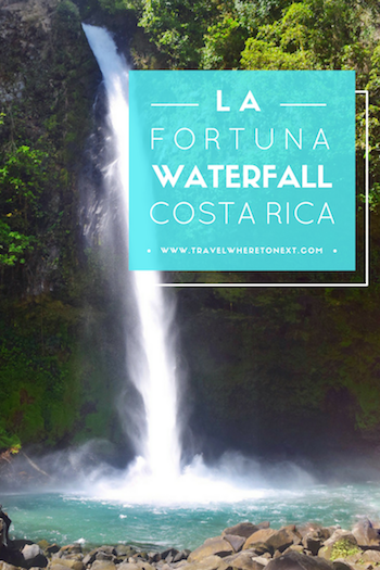 How to get to the La Fortuna Waterfall. One of the best things to do in Costa Rica - don't miss it!  Tessa Juliette | Travel Where to Next http://travelwheretonext.com