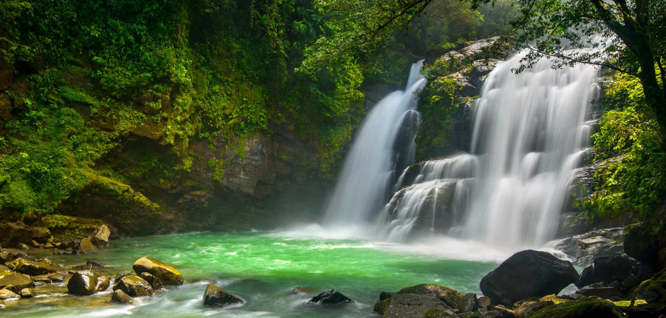 How to see one of the most beautiful waterfalls in Costa Rica - Nauyaca Waterfall.  http://travelwheretonext.com/blog/viento-fresco-waterfalls-costa-rica