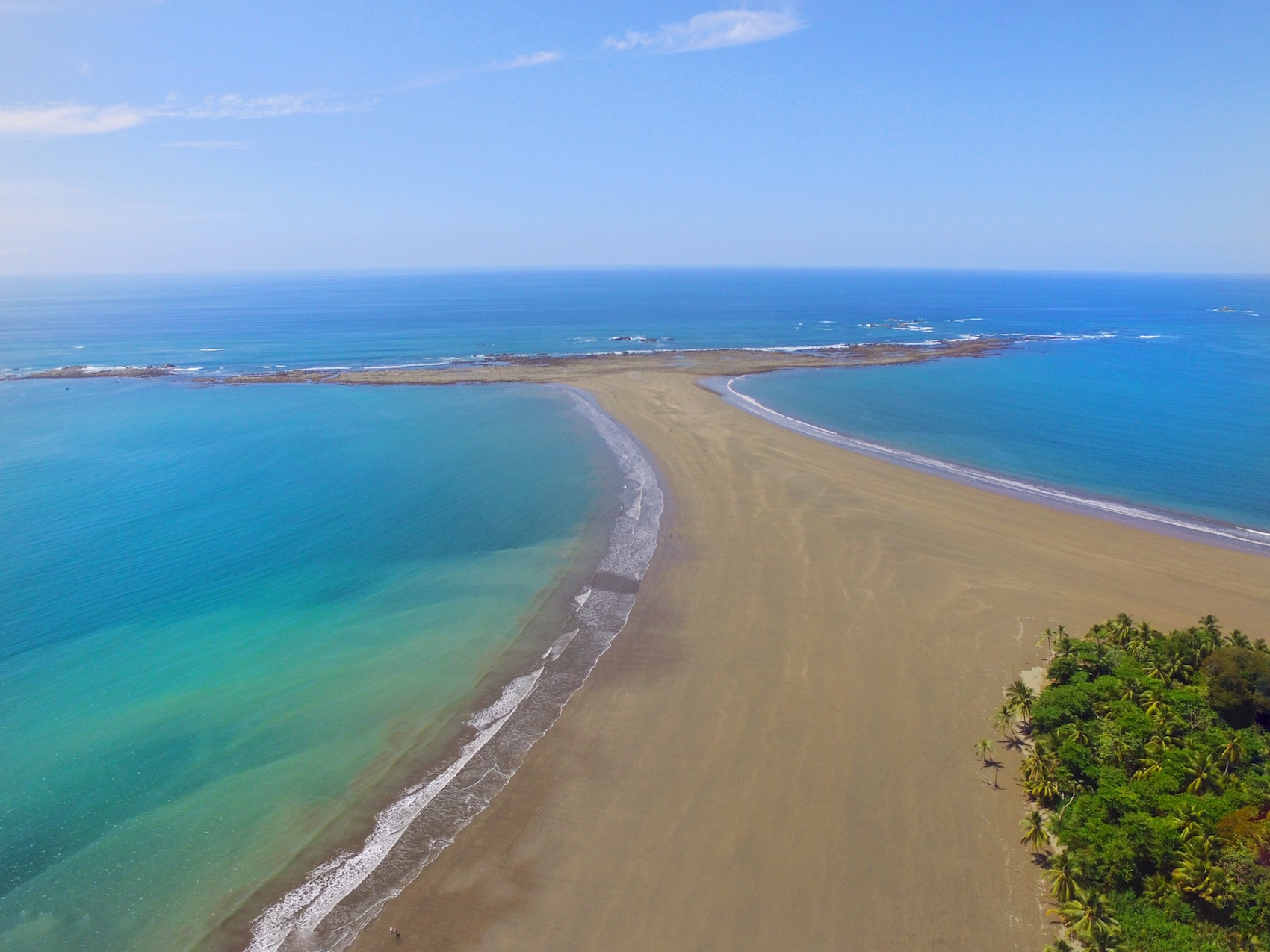 The best and most beautiful beach in Costa Rica. Marino Ballena Park is one of the best and top things to do in Costa Rica!  Tessa Juliette | Travel Where to Next http://travelwheretonext.com