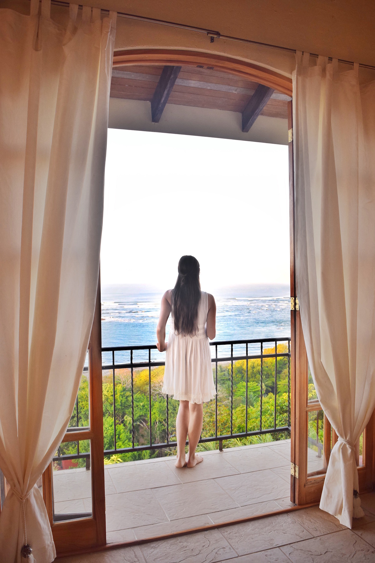 My balcony at El Castillo