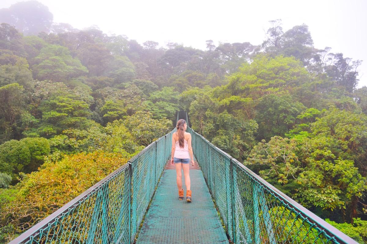 best hanging bridges costa rica