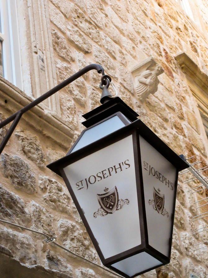 Outside | St. Joseph's Dubrovnik