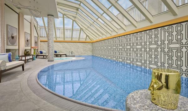 Indoor Pool   Ritz-Carlton Budapest