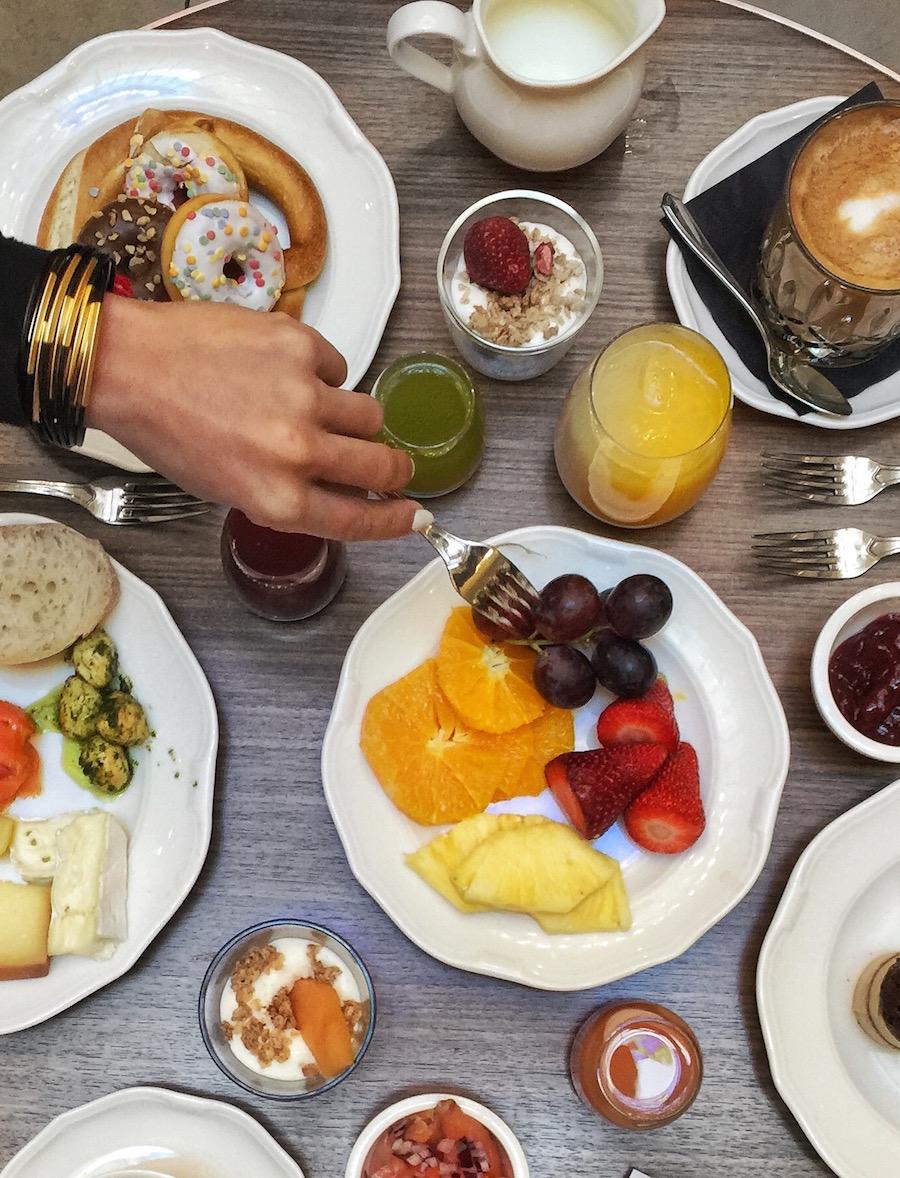 Breakfast at Ritz-Carlton Budapest