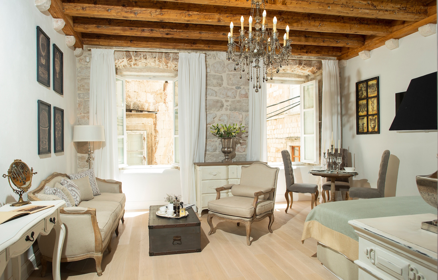 Best hotel in Dubrovnik Old Town and one of the best hotels on TripAdvisor.  Tessa Juliette http://travelwheretonext.com