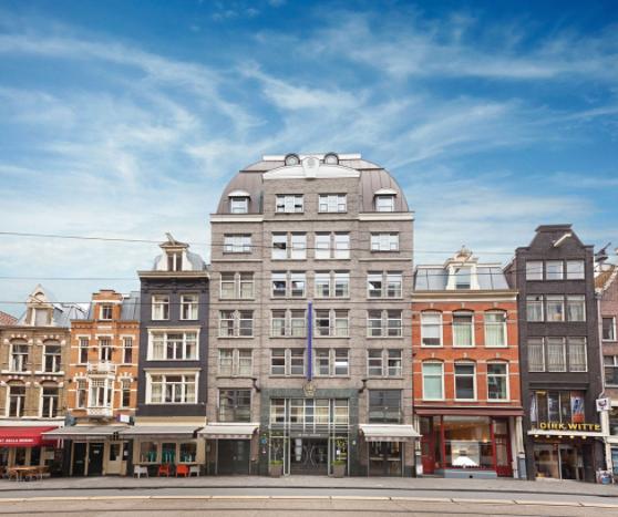 From Street | Albus Hotel Amsterdam